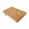 brown tyvek ipad case french logo