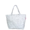 Tyvek lightweight tote bag with newspaper print design