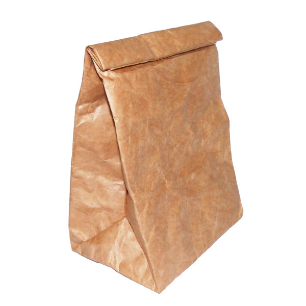 brown tyvek lunch sandwich bag