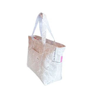Tyvek Newspaper Print Bag