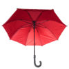 Brown Tyvek umbrella with red lining