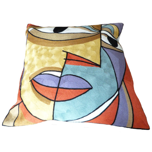 picasso face cushion cover