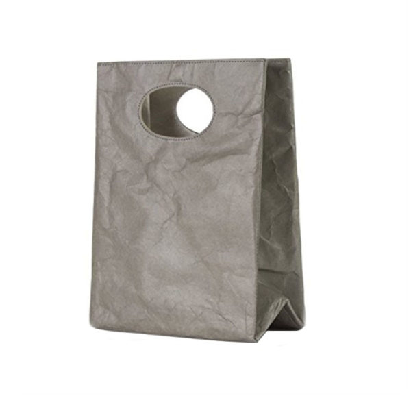 tyvek modern lunch sandwich bag grey