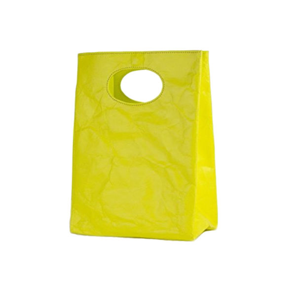 tyvek lunch sandwich bag yellow