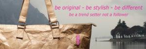 BoBorsa Original Brown Buckle Handle Bag